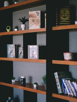 custom built shelving modern