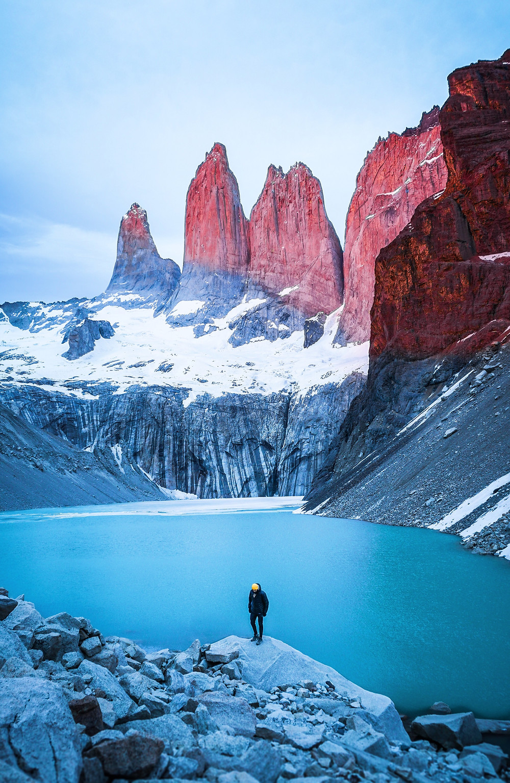 Torres del Paine mountains in Chile