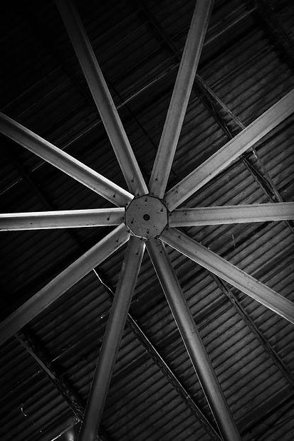 Commercial Ceiling Fan Installation installation in Atlanta Ga Gym.