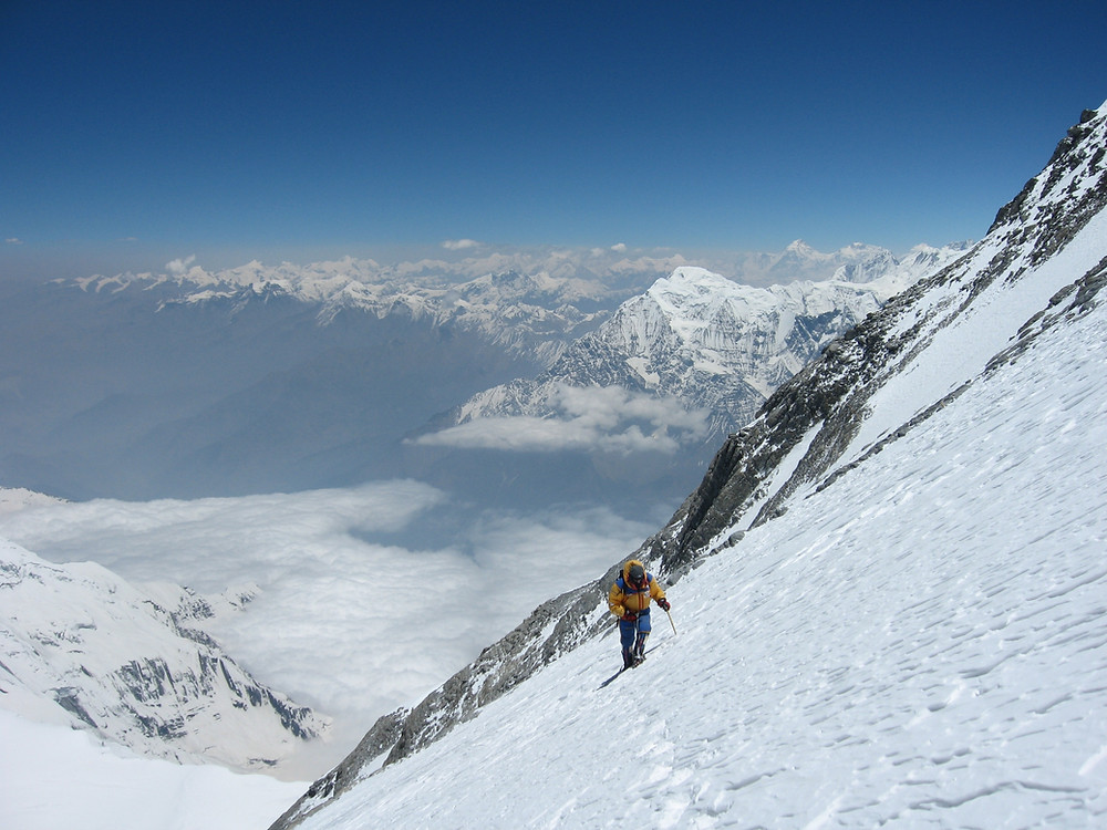The Dhaulagiri Massif in the western-central of Nepal