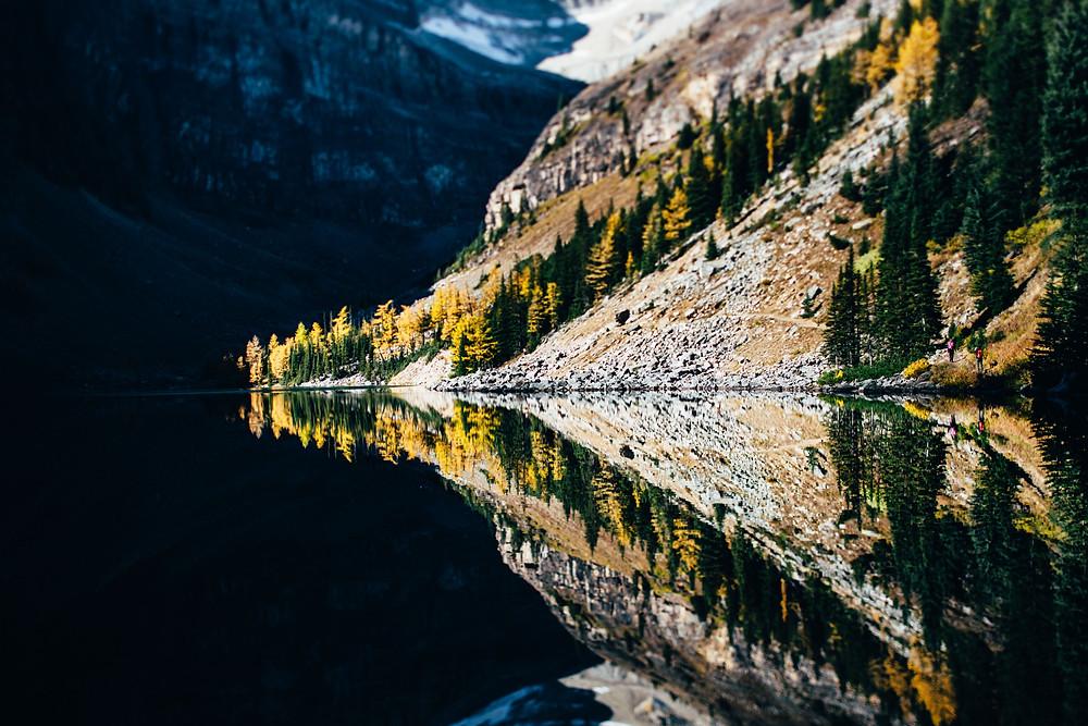 Un esprit clair voit les situations telles qu'elles ont, tel un miroir d'eau dans lequel se reflète le paysage.