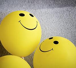 Smiling balloons   Image by Tim Mossholder