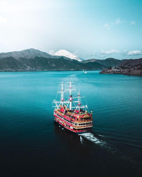 Promenade en bateau sur le lac Ashi à Hakone