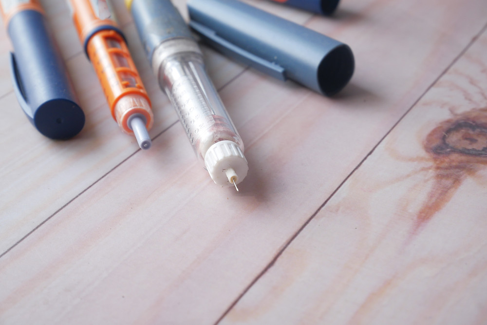 Bolígrafos y plumas de insulina