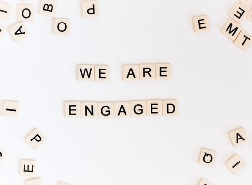 A Unique Engagement Announcement
