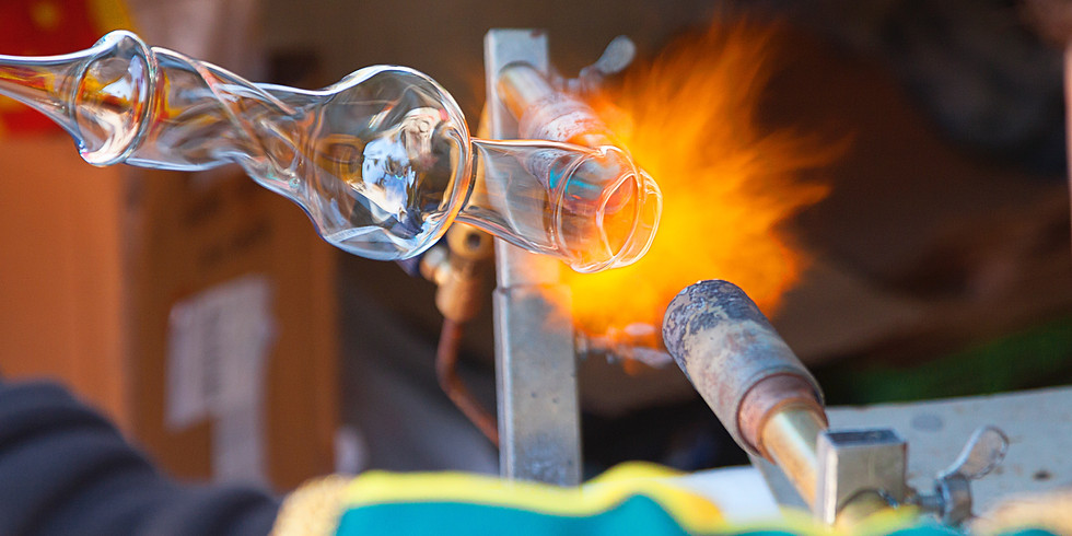 InterActive Lunch - Glass Blowing Tour