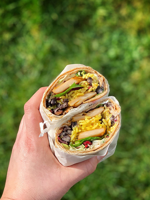 Mega Veggie Wrap
