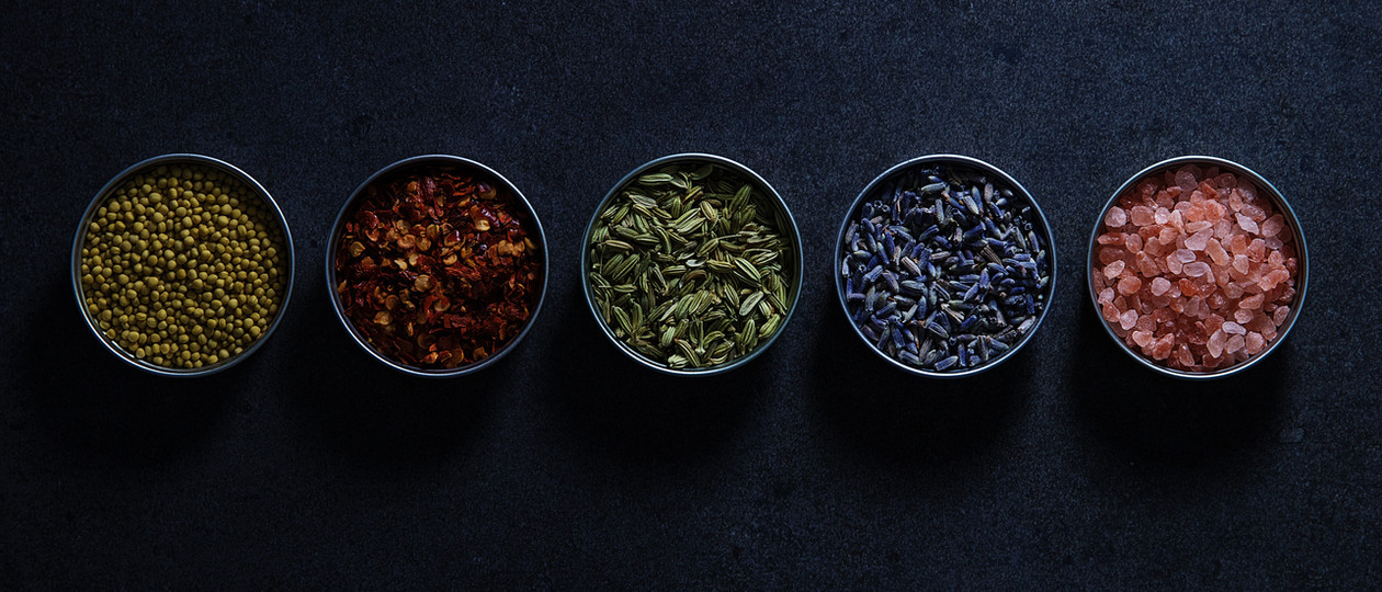 All the spices