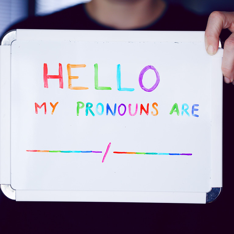 Languages and Pronouns with Transcendence