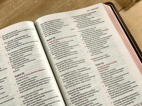 Prayer Tip: Pray The Psalms