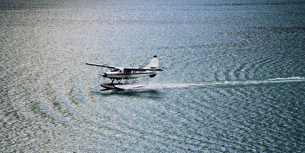 Take a seaplane ride near your Leesburg rental