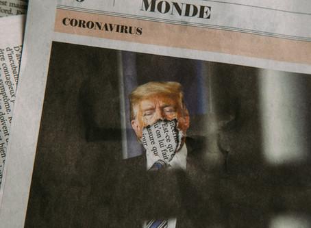 Trump Contracts COVID, Aides Also Sick, His Campaign in Crisis