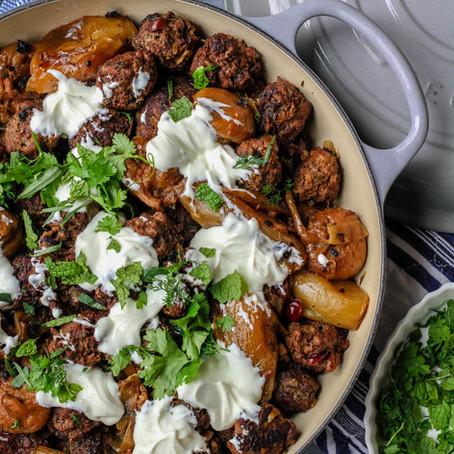 Spiced Turkey Meatballs