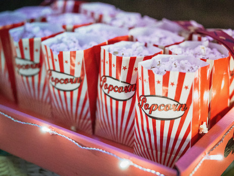 "Popcorn Night & ""The Secret Chamber of Dry Eye Spells"""