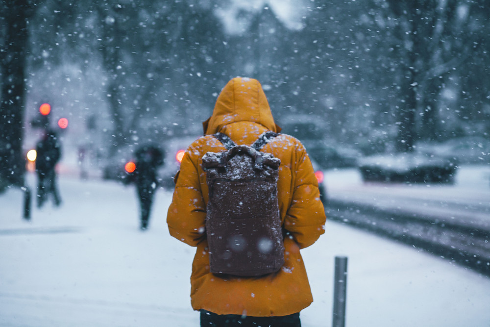 frio no Canadá