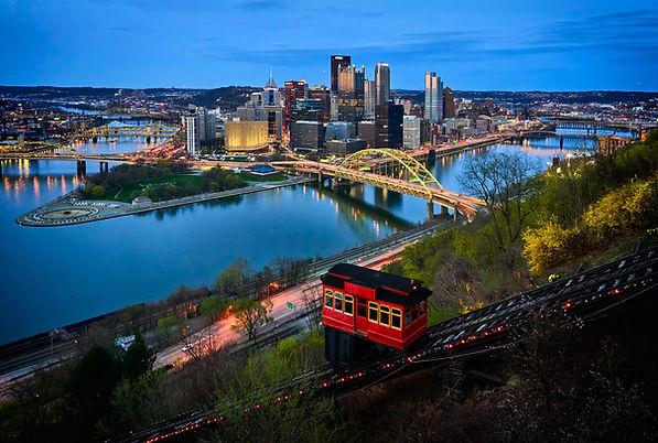 Pittsburgh PA by Vidar Nordli-Mathisen