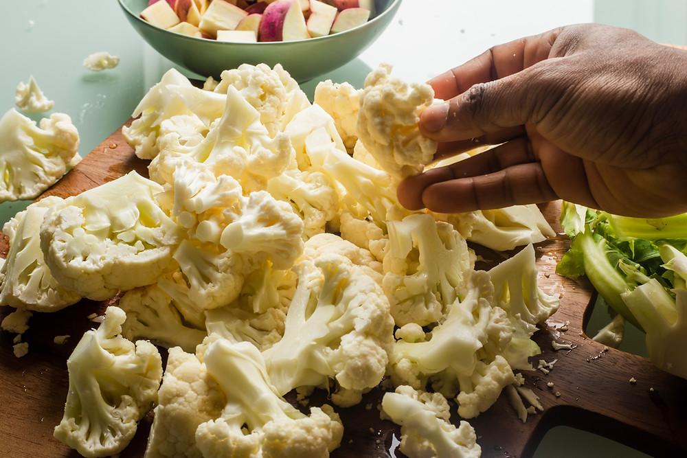 recette gratin de chou-fleur leger