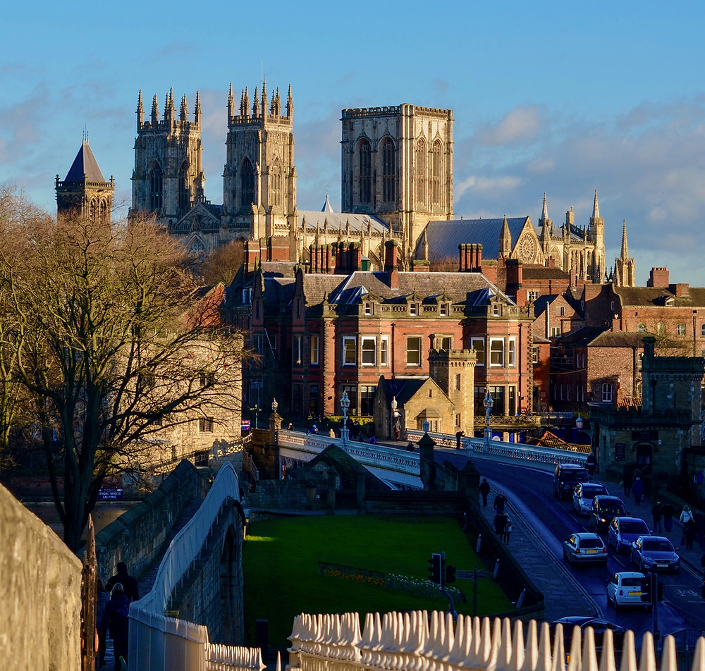 View of York Minster from City Walls