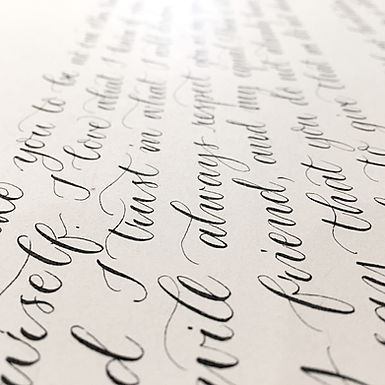 DIY Calligraphy