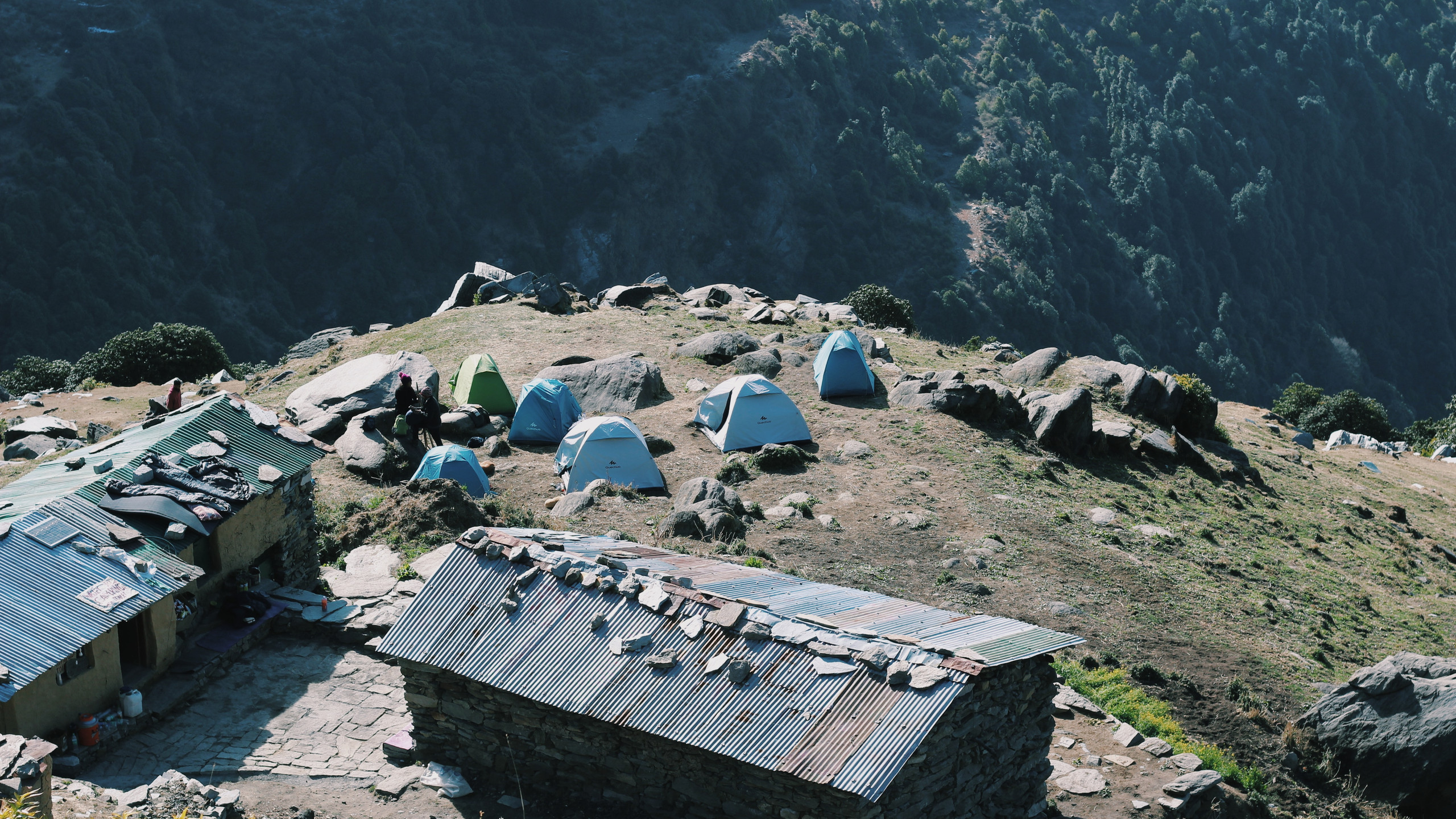 camping on triund