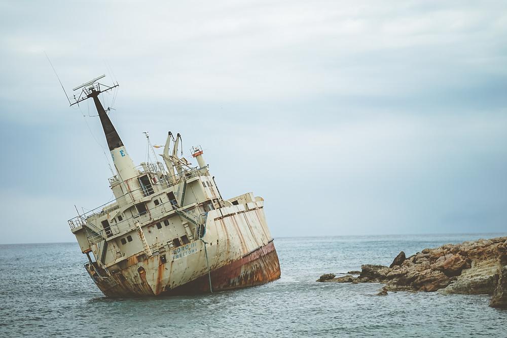 Roadtrip στην Πάφο diarywings edro shipwreck