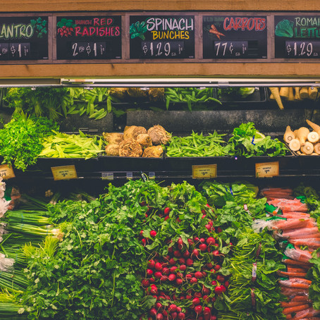 Buying groceries in the 6th most expensive city in the world