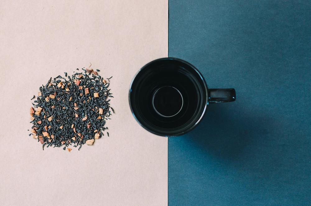 thé noir antioxydant
