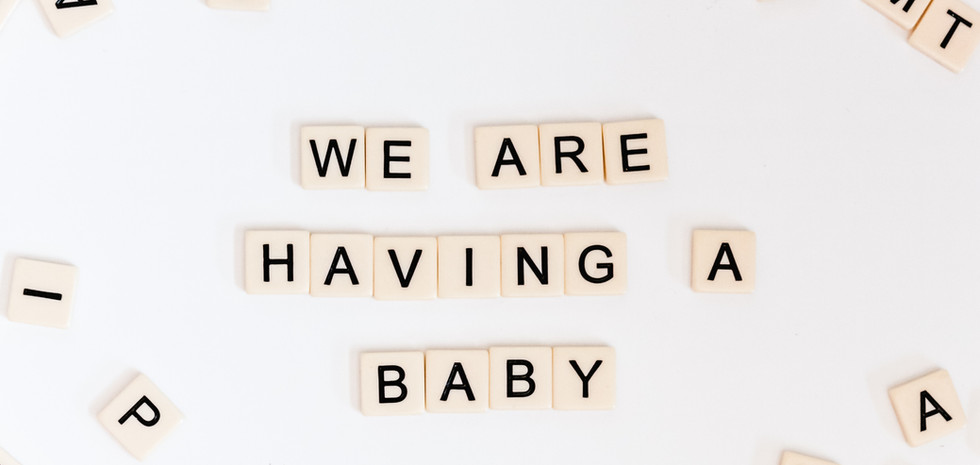 We are having a baby