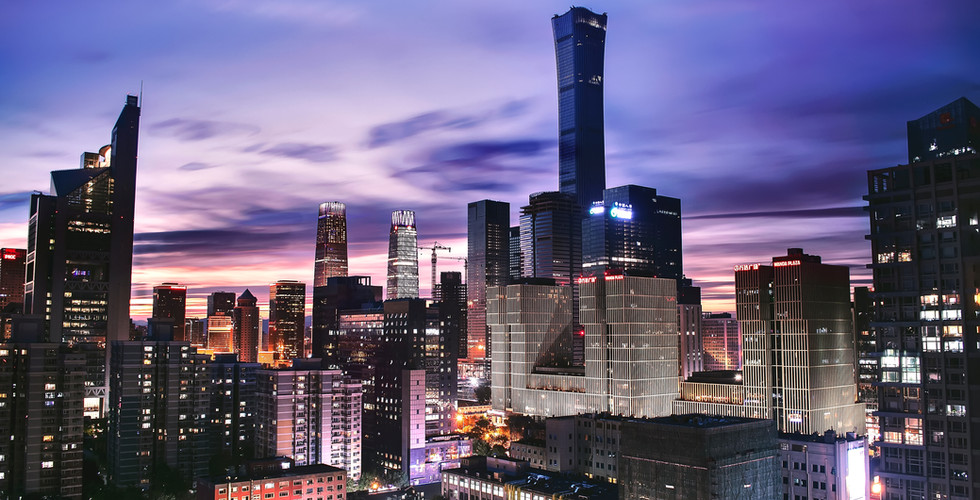 chinese business buildings