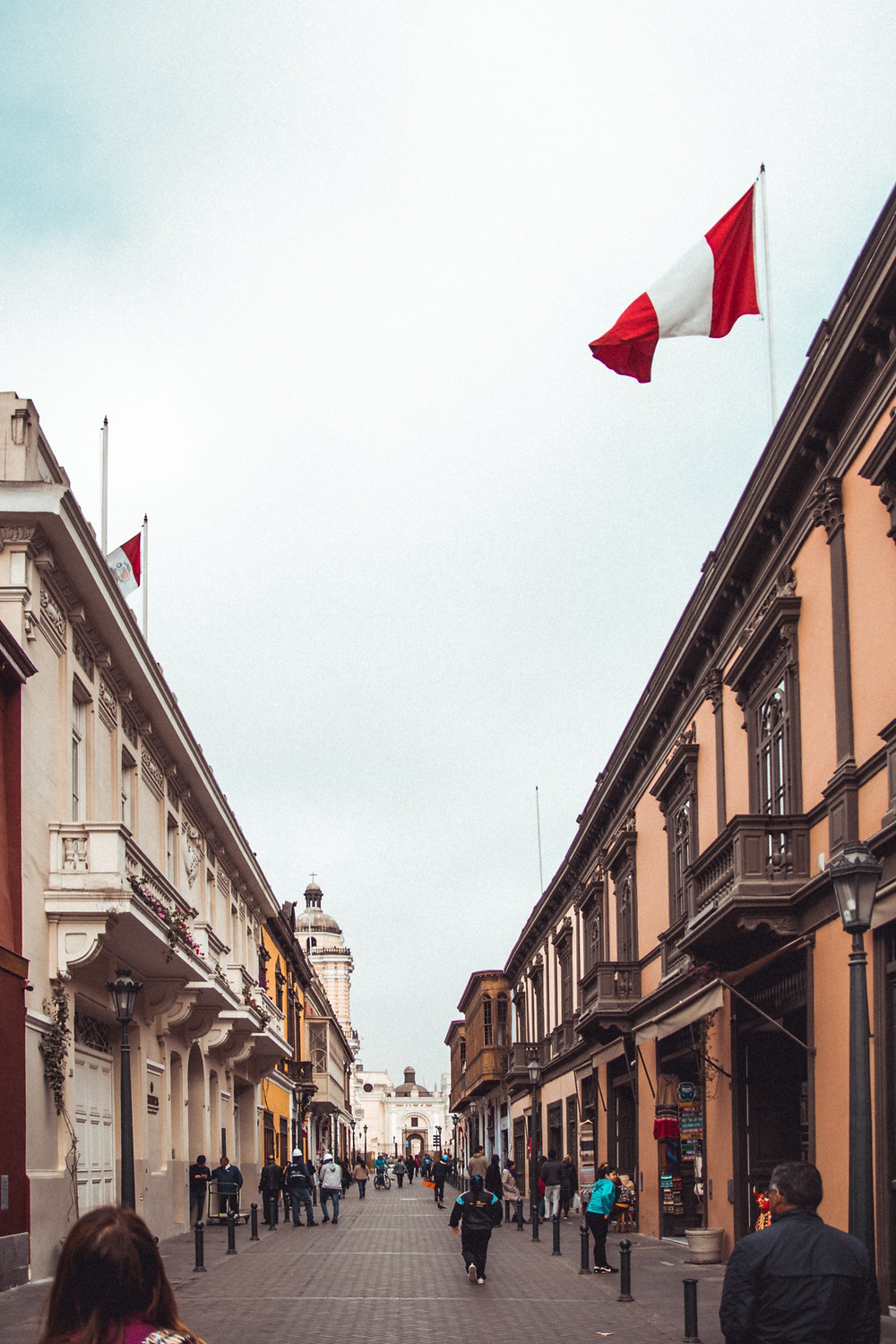 travel to the Historic Center of Lima in peru