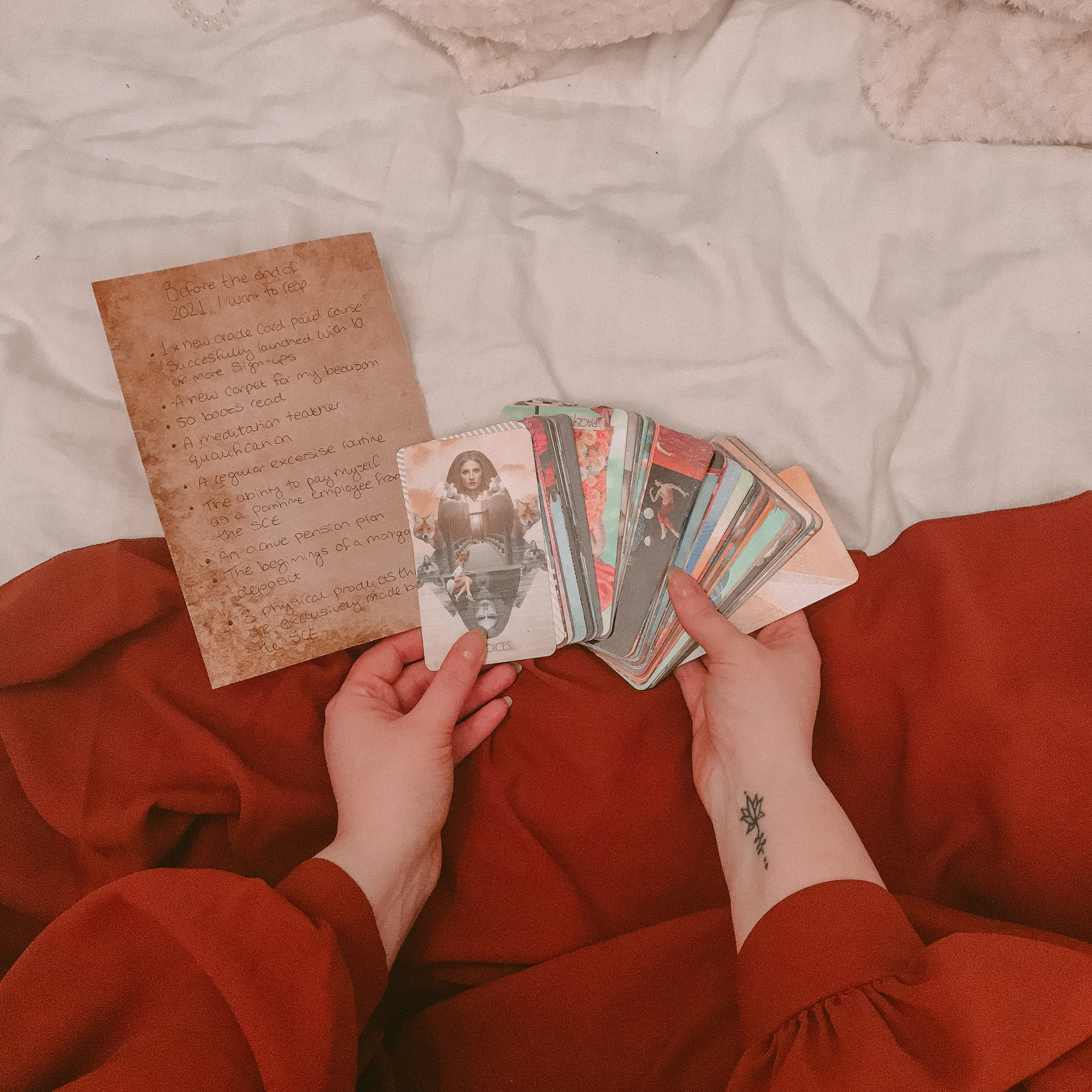 Private Tarot Lessons