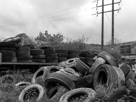 How do I dispose of truck tyres?