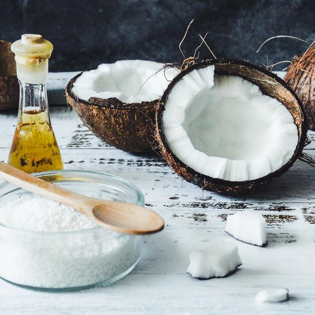 Kokos-Zitronen-Peeling