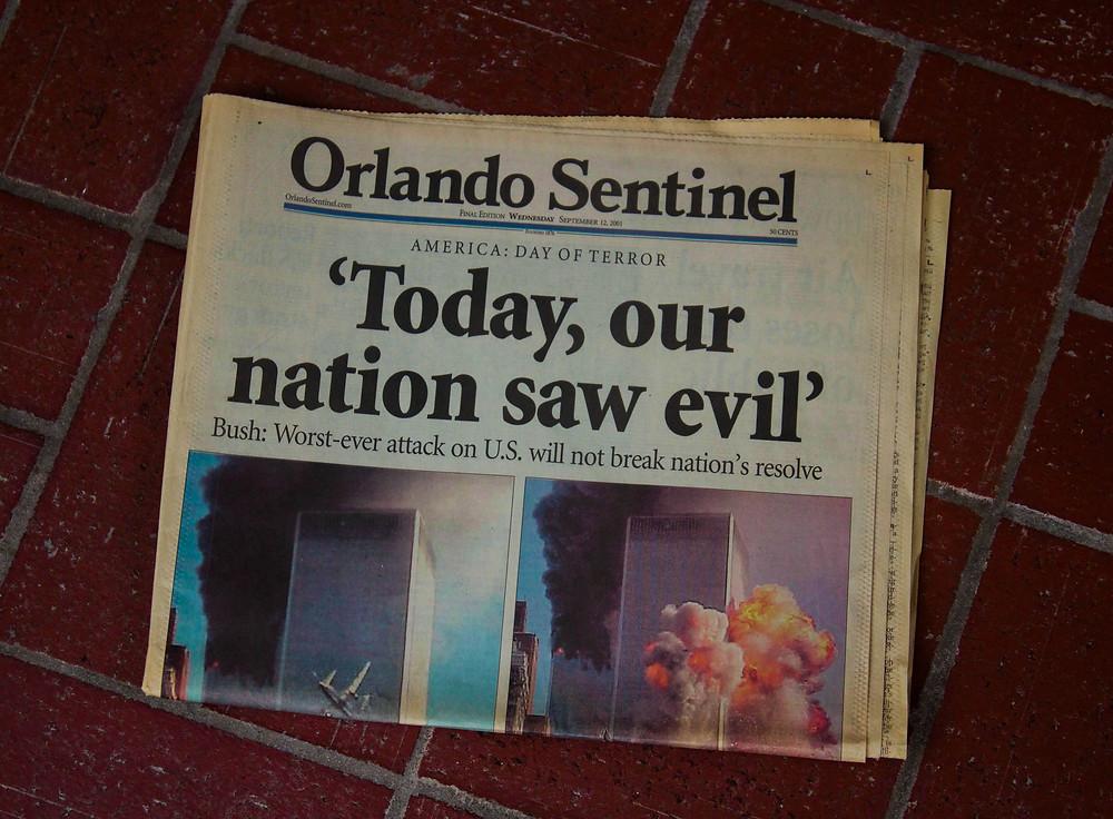 9/11 at Mustard Seed Sentinel
