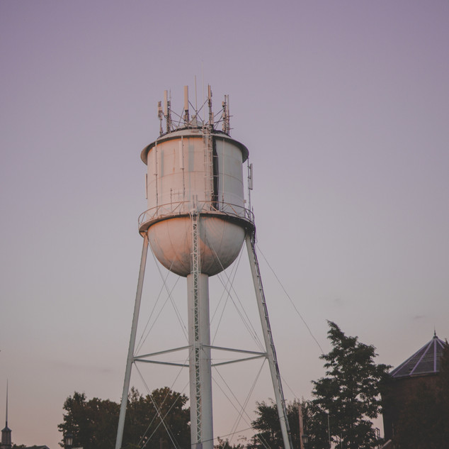 Water Tower Painting