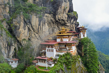 In a land where the Buddhist tradition ensures a respect and reverence for nature, you will find soaring Himalayan peaks rising above deep ravines cloaked in untouched forest. Throughout the land we will take you on inspiring visits to fortress-like dzongs and monasteries where you can interact with monks and nuns.  We will have you witness traditional dance festivals and meet the engaging people, as well as meander through ancient rhododendron forests.   Bhutan is as close to Shangri La as it gets. As with all our private tours, this sample itinerary can be completely tailored to create the perfect journey of discovery for you.