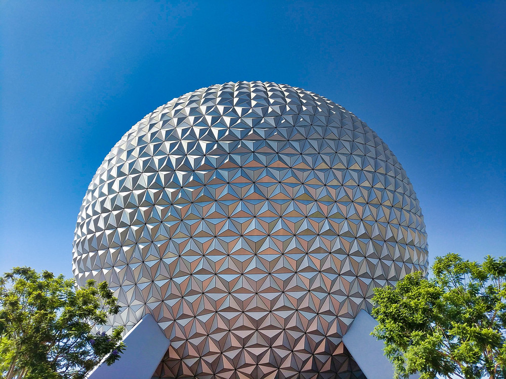 Epcot Ball at Disney World
