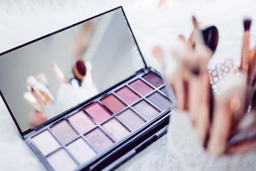 Make up Utensilien für Fotoshooting