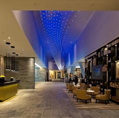 Reception in stile moderno