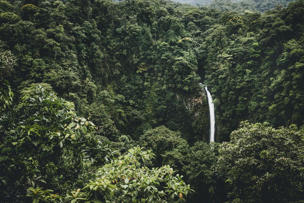 Cascade de La Fortuna, photo de Isabella Jusková