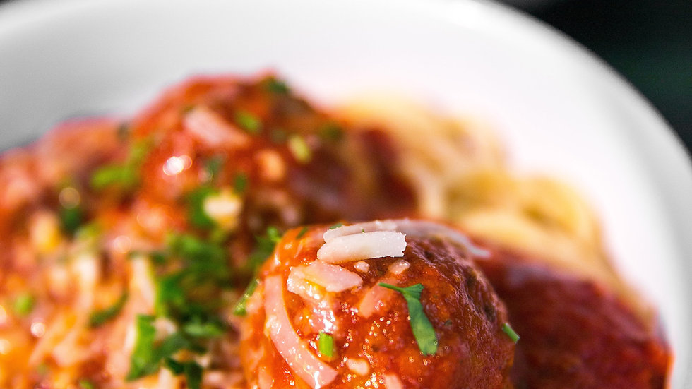MOORISH MEATBALLS (BIG DISH)