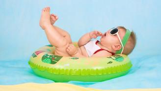 Бањање на бебе