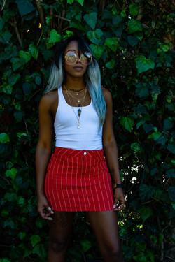 Black lady model