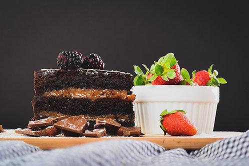 Vegan Chocolate Cake Mix - 2 layers