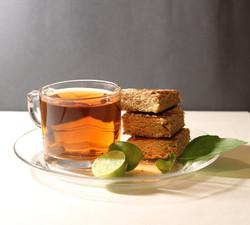Hot Tea with Snacks