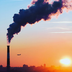 the tint of pollution