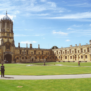 Things to Remember after Oxford Interviews