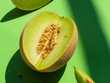 Keeping your Body Cool (Water-Rich Foods): CANTALOUPE