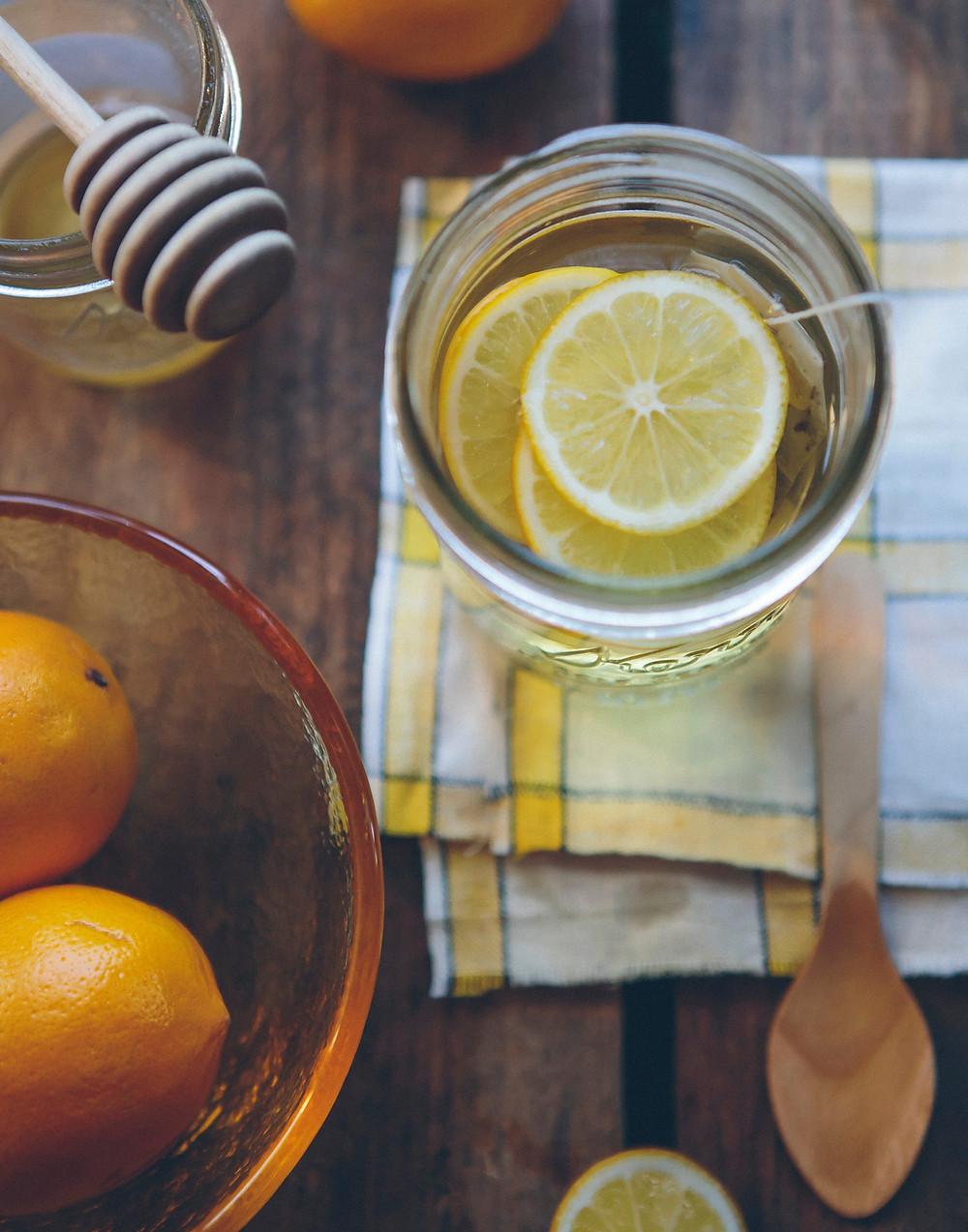 lemon tea Chinese medicine