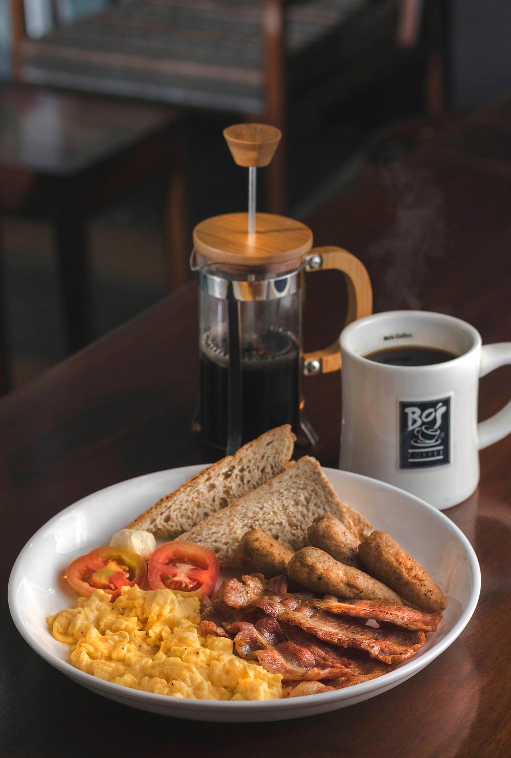 make ahead breakfast with coffee